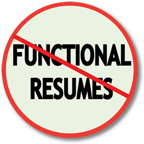 Career Changers Avoid Functional Resumes